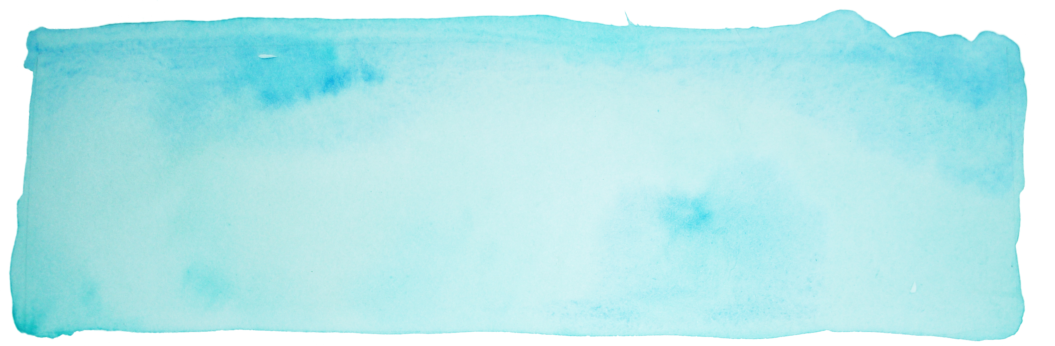 """Watercolor Website Header Blue"""