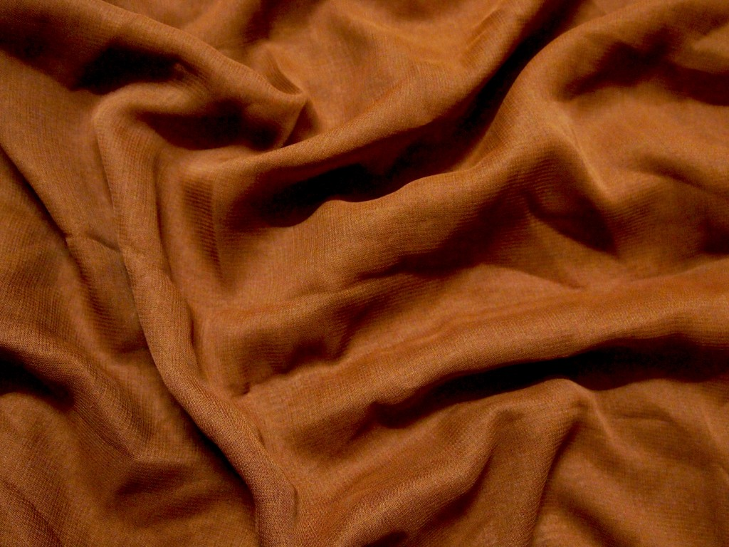 """Chiffon Fabric Folds Brown Texture 3"""
