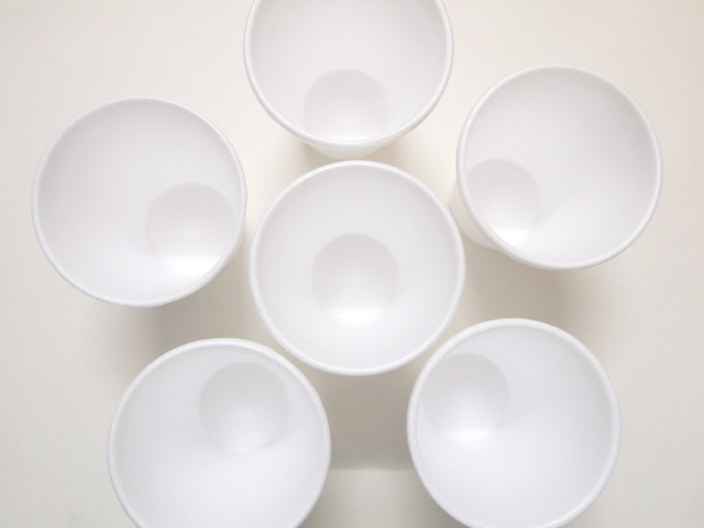 """Styrofoam Disposable Cups 1"""