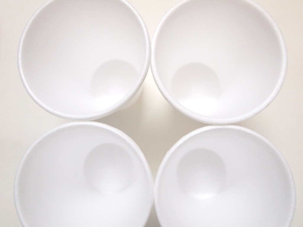 """Styrofoam Disposable Cups 3"""