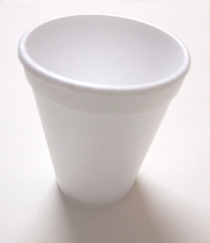 """Styrofoam Disposable Cups 6"""