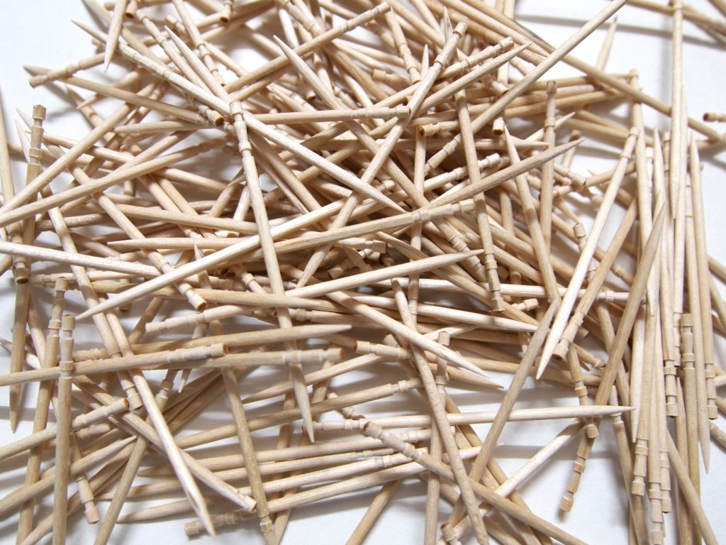 """Wooden Toothpicks Texture 5"""