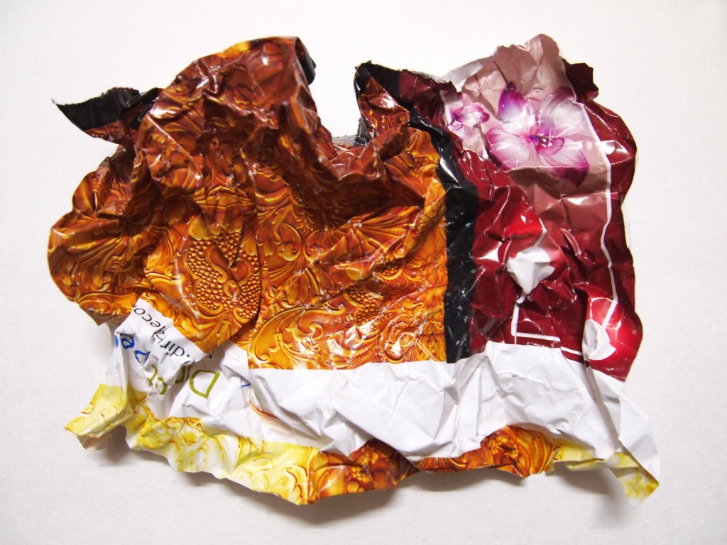 """Crumpled Printed Paper Texture 1"""