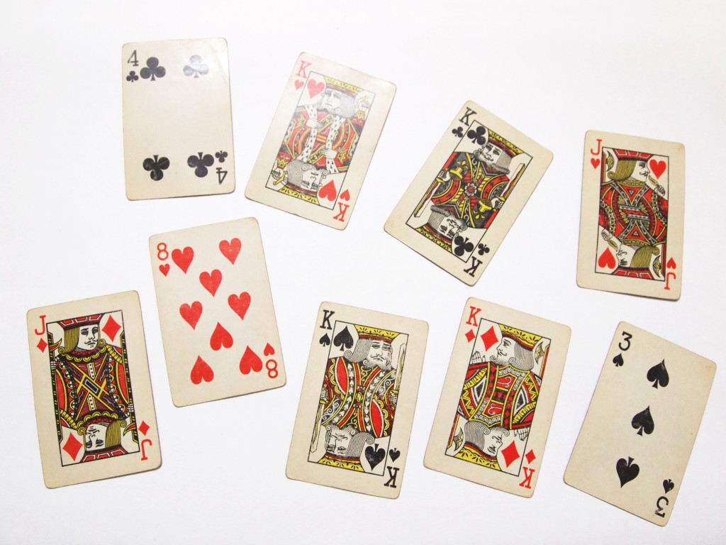 """Old Playing Cards Textures 1"""
