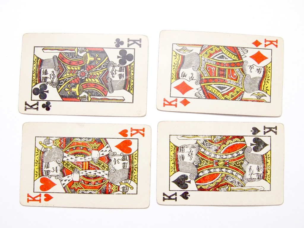 """""""Old Playing Cards Textures 2"""""""