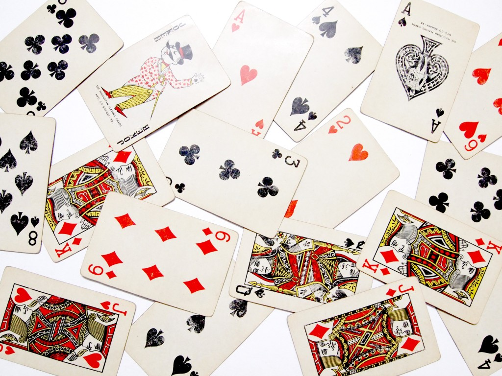 """Old Playing Cards Textures 3"""