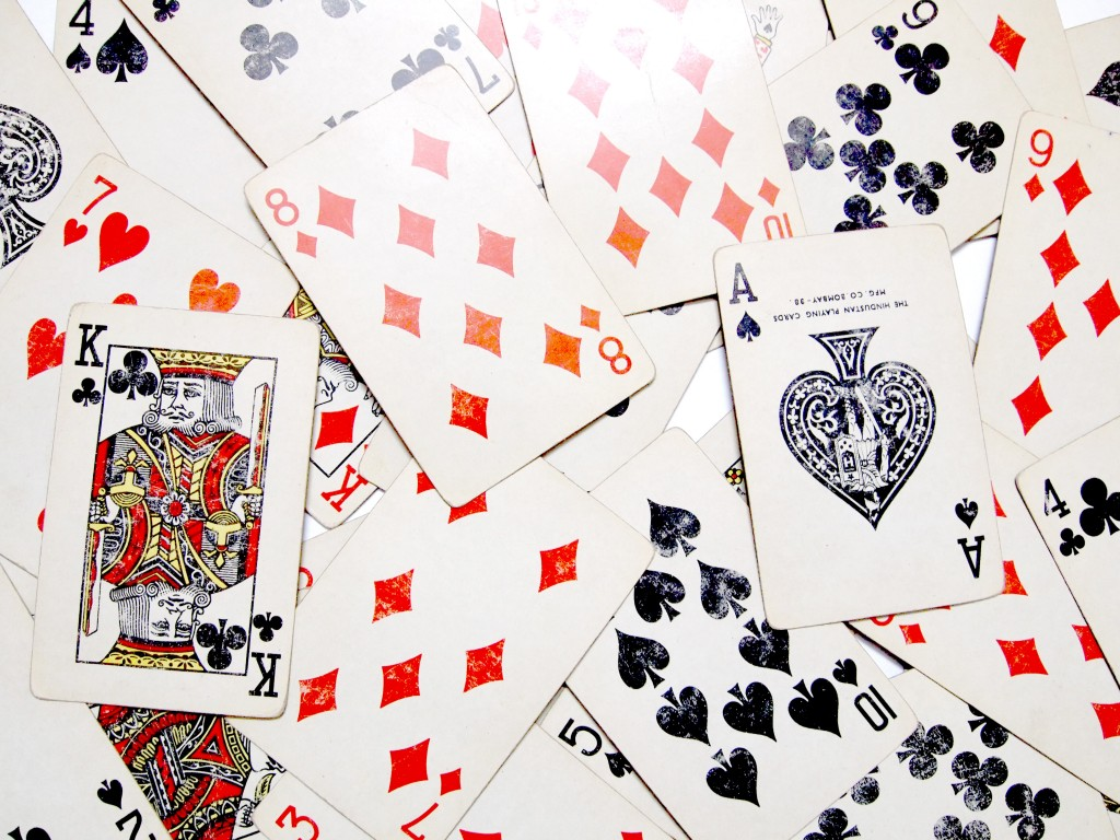 """Old Playing Cards Textures 4"""