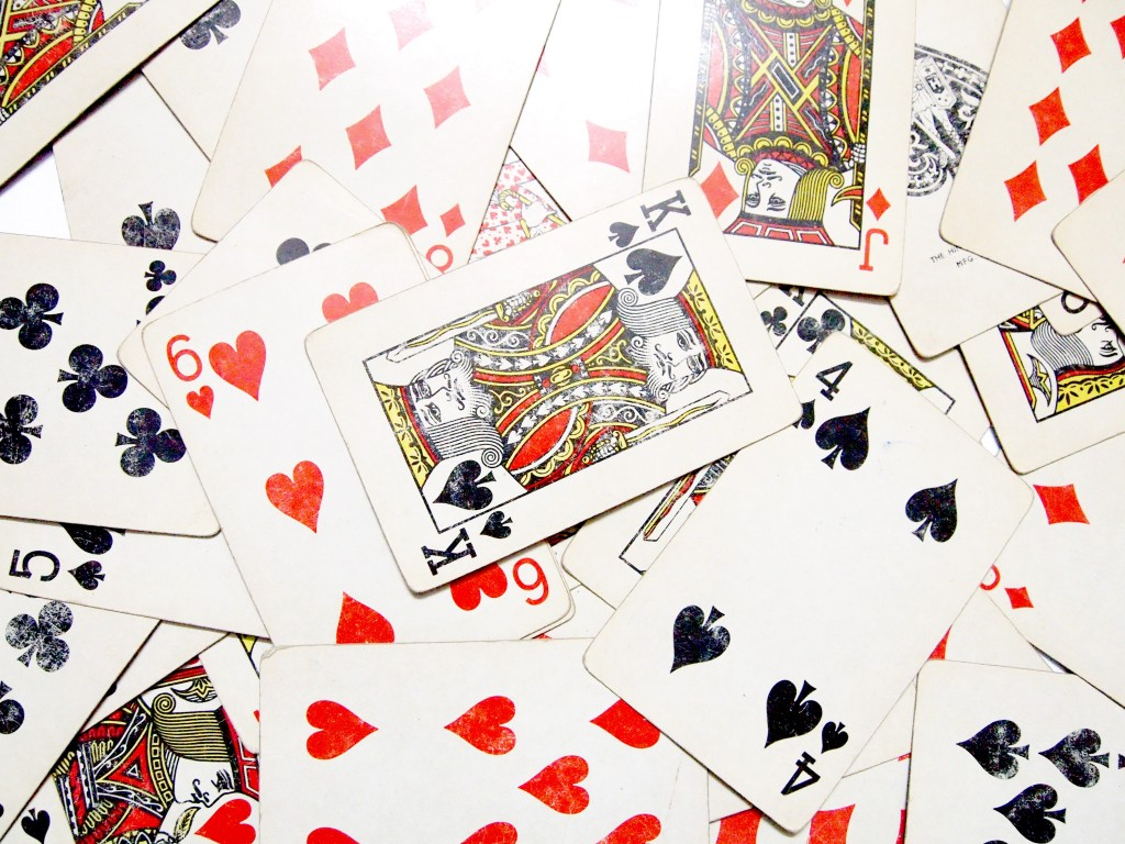 """Old Playing Cards Textures 5"""