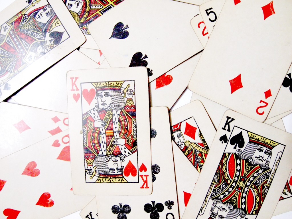 """""""Old Playing Cards Textures 7"""""""