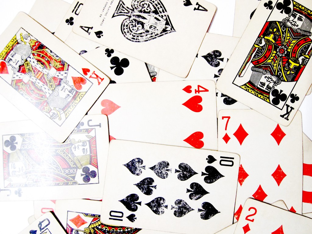 """""""Old Playing Cards Textures 8"""""""