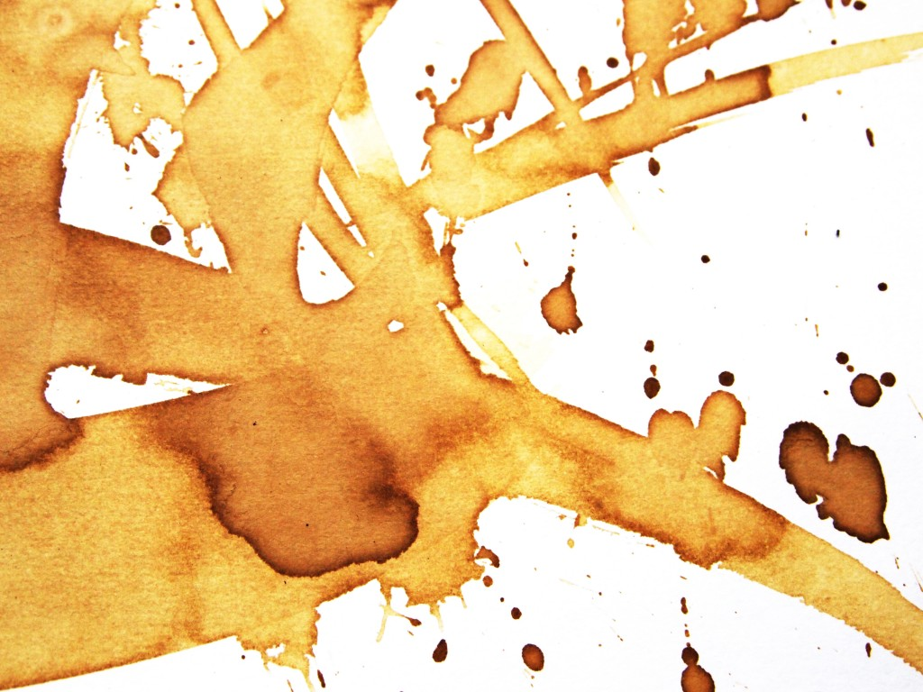 """Spilled Coffee Texture 1"""
